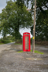 Photo of L2018_3580 - GPO K6 Telephone Box - Wiston - Pembrokeshire
