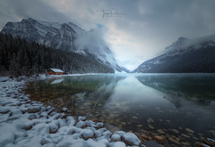 Lake Louise (Toni_pb) Tags: landscape canada rockies wild winter canadianrockies nature reflection wildlife nikon 1424 d850 rocosas blue water waterscape