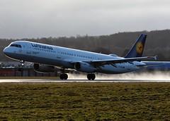D-AISZ Lufthansa (Gerry Hill) Tags: bridge airplane scotland airport nikon edinburgh d70 aircraft hill transport aeroplane international airline d750 boathouse edi gerry ingliston d90 turnhouse egph d80 d5600 d7200 airbus lufthansa 231 a321 a321231 daisz
