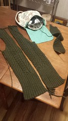 Knitting Cardigan WIP status update (rebeccmeister) Tags: projects