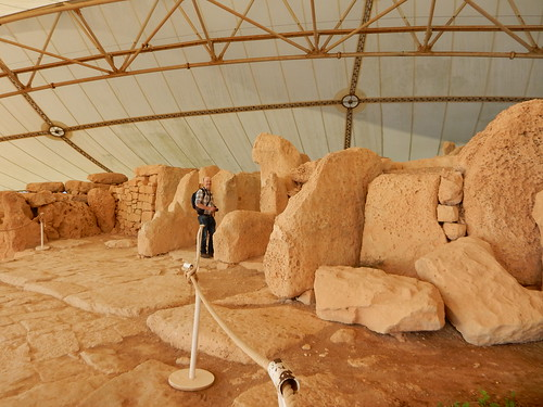 The megalithic Mnajdra Temple