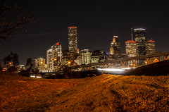 (jfre81) Tags: houston downtown night skyline long exposure light stream freeway highway public road infrastructure overpass building architecture landscape cityscape field htx htown 713 bayou space clutch city dirty south third coast gulf james fremont photography jfre81 canon rebel xs eos