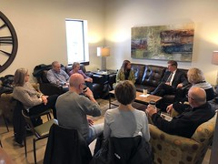 "Meeting with National Alliance On Mental Illness in Iowa • <a style=""font-size:0.8em;"" href=""http://www.flickr.com/photos/117301827@N08/49357787127/"" target=""_blank"">View on Flickr</a>"