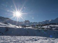 Quand le soleil est là ! Tout va ! (AnneLise Pollet) Tags: soleil neige montagne alpes savoie maurienne albiezmontrond aiguillesdarves nature paysage panasonicg9