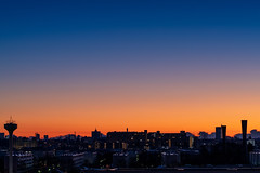 Daybreak (KT Bonita) Tags: sky silhouette japan dawn town twilight sony daybreak α7r4 sigma 135mmf18dghsm ilce7rm4 α7riv 夜明け 空 町