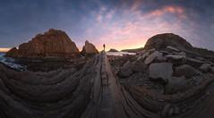 La Arnia (Pablo RG) Tags: cantabria costa la arnia sunrise amanecer nature sky nikon spain landscape sun