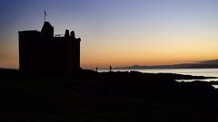 Portencross Castle. (billmac_sco) Tags: scotland portencross castle sunset sky