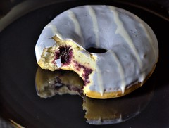 Blueberry Doughnut (Tony Worrall) Tags: photos photograff things uk england food foodie grub eat eaten taste tasty cook cooked iatethis foodporn foodpictures picturesoffood dish dishes menu plate plated made ingrediants nice flavour foodophile x yummy make tasted meal nutritional freshtaste foodstuff cuisine nourishment nutriments provisions ration refreshment store sustenance fare foodstuffs meals snacks bites chow cookery diet eatable fodder ilobsterit instagram forsale sell buy cost stock blueberry doughnut iced colours ring donut nikon d810