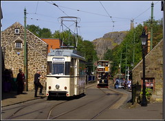 Berlin Tramways 3006 (Lotsapix) Tags: derbyshire crich tramway museum museumoftransport trams tram berlin restored