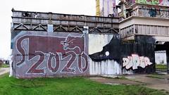 Kathaoir, Duper, Avoid / DOK betoncentrale - 9 jan 2020 (Ferdinand 'Ferre' Feys) Tags: gent ghent gand belgium belgique belgië streetart artdelarue graffitiart graffiti graff urbanart urbanarte arteurbano ferdinandfeys