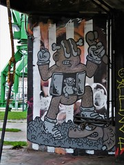 Kiuw / DOK betoncentrale - 9 jan 2020 (Ferdinand 'Ferre' Feys) Tags: gent ghent gand belgium belgique belgië streetart artdelarue graffitiart graffiti graff urbanart urbanarte arteurbano ferdinandfeys