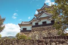 Japan - Hikone (SergioQ79 - Osanpo Photographer -) Tags: japan hikone sky castle clouds castello giappone nikon d7200 april 2019