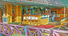 colors of Pass-a-Grille 7 (albyn.davis) Tags: passagrille florida usa travel vacation bar restaurant cafe people colors colorful vivid vibrant yellow golden chairs outdoors patio