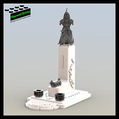 Admiral Yi Sun-sin Monument WIP 3 (Playwell Bricks) Tags: lego legotechniques legoideas legophotography legopictures legoart legofun art architecture design engineering creativity southkorea admiralyisunsin monuments