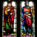 Henry III & Simon de Montford Window, Cloister of Worcester Cathedral, Worcester, England