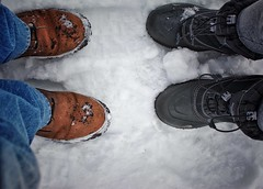 Montreal (Mister Blur) Tags: montreal quebec canada snow winter lhiver invierno nieve neige fallatyourfeet boots rain freeze love thedevlins freezing nikon d7100 35mm nikkor lens f56 snapseed rubén rodrigo fotografía