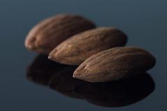 A is for almonds (Jan Macro Sleuth) Tags: almonds a aisforalmonds naturallight micronikkor105mmf28g nikkor macro flickrlounge week2 weeklytheme lowkey bouncedstrobe darkish