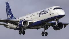 N284JB_FLL_Landing_10R (MAB757200) Tags: jetblueairways erj190100 n284jb aircraft airplane airlines airport jetliner fll kfll fortlauderdalehollywoodinternationalairport landing runway10r embraer sincerelyblue