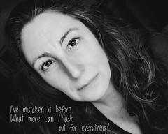 344.365.2019 (sadandbeautiful (Sarah)) Tags: me woman female self selfportrait dailyselfportrait 365 365days 365daysx9 bw