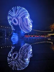 Light festival, Battersea (Elcee60) Tags: powerstation london huaweimate20pro phone battersea