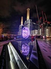 Light festival, Battersea (Elcee60) Tags: powerstation london battersea huaweimate20pro phone