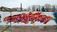 Duits / Dok Noord - 9 jan 2020 (Ferdinand 'Ferre' Feys) Tags: gent ghent gand belgium belgique belgië streetart artdelarue graffitiart graffiti graff urbanart urbanarte arteurbano ferdinandfeys duits