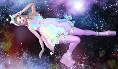 Space Rainbow (kyoka jun) Tags: kawaiimeshshop funny fairy fantasy costume original clothing accessories gothic dolls lolita kawaii secondlife sl secondlifefashion secondlifeblog lessucreriesdefairy julia
