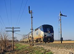 AMTK 25, CSX LaFayette Subdivision, Romney, Indiana (monon738) Tags: train railroad railway railfanning csxlafayettesubdivision amtrak amtk25 amtk51 ge gep42dc p42dc passengertrain indiana romneyindiana tippecanoecounty pentax pentaxz1p z1p csxmononsubdivision mononsemaphore semaphore locomotive diesellocomotive mononrailroad smcpa35105mmf35