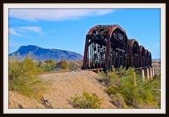 Trestle Bridge (REM Photo) Tags: trestle rr bridge colorado river