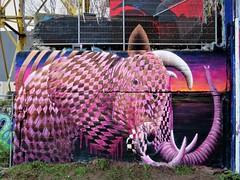 Cee Pil / DOK betoncentrale - 2 jan 2020 (Ferdinand 'Ferre' Feys) Tags: gent ghent gand belgium belgique belgië streetart artdelarue graffitiart graffiti graff urbanart urbanarte arteurbano ferdinandfeys ceepil