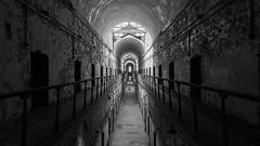 Eastern State Penitentiary (PMillera4) Tags: philadelphia blackandwhite jail prison easternstatepenitentiary