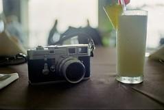 Shooting break! (GOJR.) Tags: film analog nikonf2 kodakektar100 nikkorautoo35mmf2 leicam3 leitzsummicron50mmf2