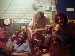 Hanging out 1970s style with friends down in the basement party room. We were WAY ahead of the curve when it came to medicinal cannabis. :)  Listening to Pink Floyd, Peter Frampton, Steely Dan and so many others. The good old days. Milford CT. July 1976 (wavz13) Tags: oldphotographs oldphotos 1970sphotographs 1970sphotos oldphotography 1970sphotography vintagesnapshots oldsnapshots oldfriends 1970sfriends vintagefriends lifetimefriends vintagephotographs vintagephotos vintagephotography filmphotos filmphotography 110film kodacolor analogphotography instamatic pocketinstamatic vintageteens vintageteenagers teenmemories teenagememories grain grainy submini subminiature analog vintageanalog 110 1970slife lifeinthe1970s teens teenagers cones trafficcones