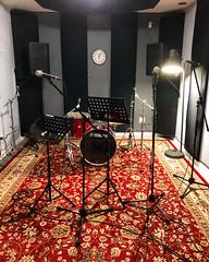 We be Jammin' (Pennan_Brae) Tags: speakers practise mic band jamming rehearsal music percussion drumkit drumset drums microphones microphone