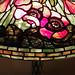 poppy filligree table lamp detail - Tiffany Studios