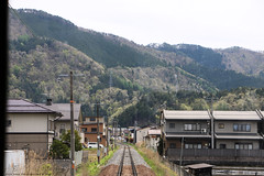 Japan Rail (Rick & Bart) Tags: 白川郷 shirakawago worldculturalheritagesite unesco japan nippon 日本 rickbart city landoftherisingsun rickvink canon eos70d kyoto jr train rails travel