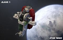 SW Microfighters: Slave 1 (Ben Cossy) Tags: lego moc afol tfol boba fett empire strikes back star wars