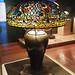 peacock table lamp - Tiffany Studios