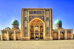 Taschkent UZ - Barak-khan Medrese 11 (Daniel Mennerich) Tags: silk road uzbekistan tashkent history architecture hdr barakkhanmedrese canon dslr eos hdri spiegelreflexkamera slr