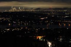 Seattle view (Northwest dad) Tags: nikon d7000 70300mm fx vr ed downtown night view skyline winter 2020 cloudy seattle washington wa