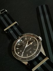IMG_20200110_150824 (imranbecks) Tags: omega seamaster 300 master coaxial chronometer calibre 8400 antimagnetic 300mc sm300 liquidmetal ceramic bezel watch watches dive diver divers timepiece 23330412101001 james bond 007 nato strap