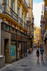 Alleys of Seville (AgarwalArun) Tags: sony a7m2 sonyilce7m2 landscape scenic nature views spain seville sevilla europe streetsofseville