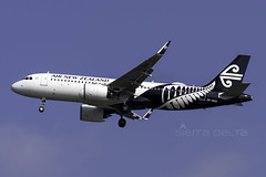 ZK-NHD A320N AIR NEW ZEALAND YBBN (Sierra Delta Aviation) Tags: air new zealand airbus a320n brisbane airport ybbn zknhd