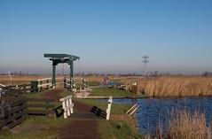 Two little Bridges.... (Johan Moerbeek) Tags: hff fence bridge krommenie polder holland noordholland dutch culture canon g9x moerbeek
