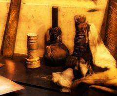 in the etching room of Rembrandt van Rijn (kelsk) Tags: rembrandthuis houseofrembrandt rembrandtvanrijn schilder painter kelskphotography jodenbreestraat museum spullenomteetsen utensilsneededforetching koperplaten copper amsterdam noordholland holland nederland netherlands