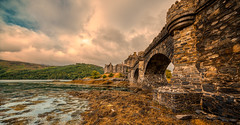 Eilean Donan Castle, Scotland. (Alex-de-Haas) Tags: adobelightroom aurorahdr d850 dornie eileandonan europa europe gb greatbritain hdr highland irix irix11mm irixblackstone kyle nikon nikond850 schotland scotland skylum uk unitedkingdom aqua beautiful castle cloud clouds cloudscape hemel hooglanden journey kasteel landelijk landscape landschaft landschap lucht outdoor outdoors reis reizen roadtrip rondreis skies sky summer travel travelling trip water wolk wolken zomer