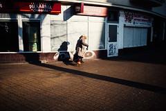 Companions (ewitsoe) Tags: moments nikon street warszawa winter erikwitsoe urban warsaw walking dog elderlywoman female dailylife everydaymoments lifevignettes walkingadag cannie