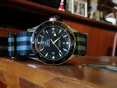 IMG_20200110_152323 (imranbecks) Tags: omega seamaster 300 master coaxial chronometer calibre 8400 antimagnetic 300mc sm300 liquidmetal ceramic bezel watch watches dive diver divers timepiece 23330412101001 james bond 007 nato strap