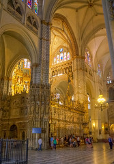 Catedral de Toledo (Miguel Ángel Prieto Ciudad) Tags: architecture church indoors religion cathedral travel history catholicism tourism famous place old ancient light sonyalpha alpha3000