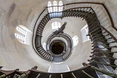 The Eagle's Path (bjoernahrensfotografie) Tags: architecture architektur minimal abstract abstrakt staircase treppe treppenhaus spiral stairs adler eagle